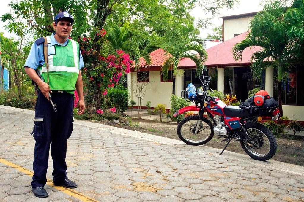 Ometepe Nicaragua Police