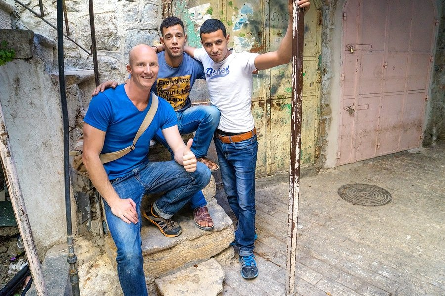 Palestinians in West Bank