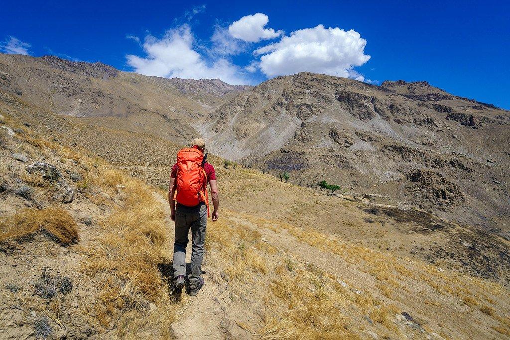 Pamir mountains hike xl