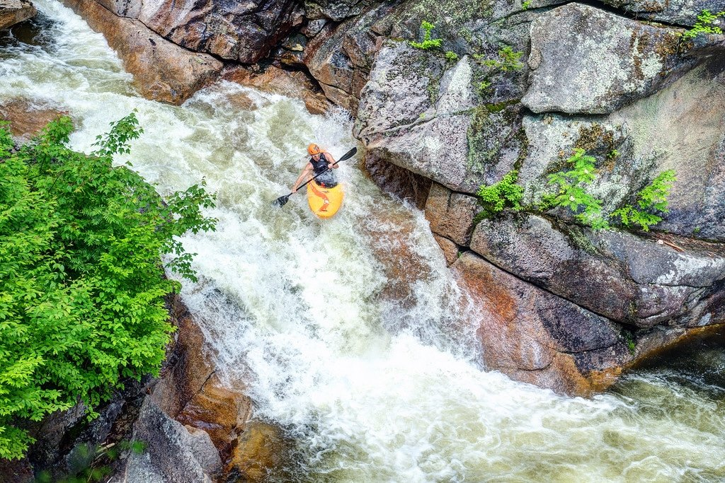 Kayaking in New Hampshire