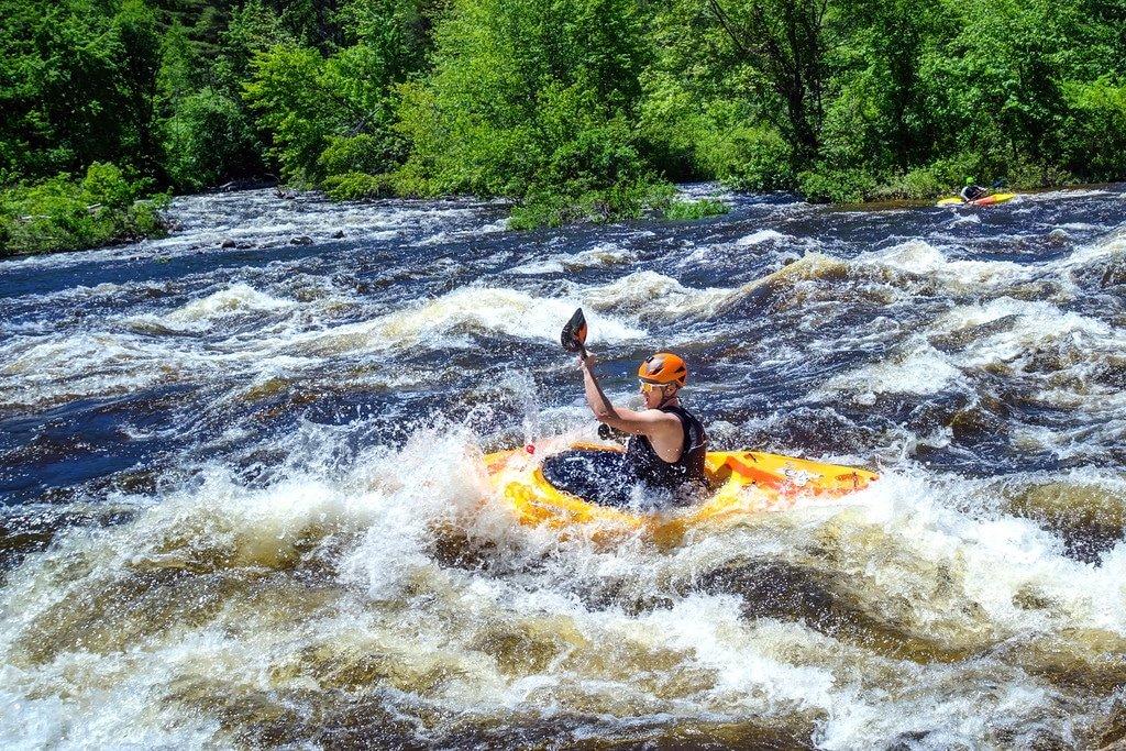 Kayaking the Pemi