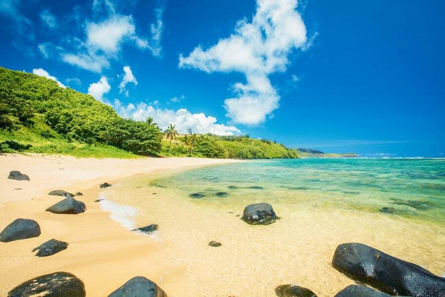 Pila'a Beach Kauai