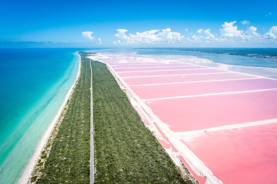 Mexico's Pink Lakes