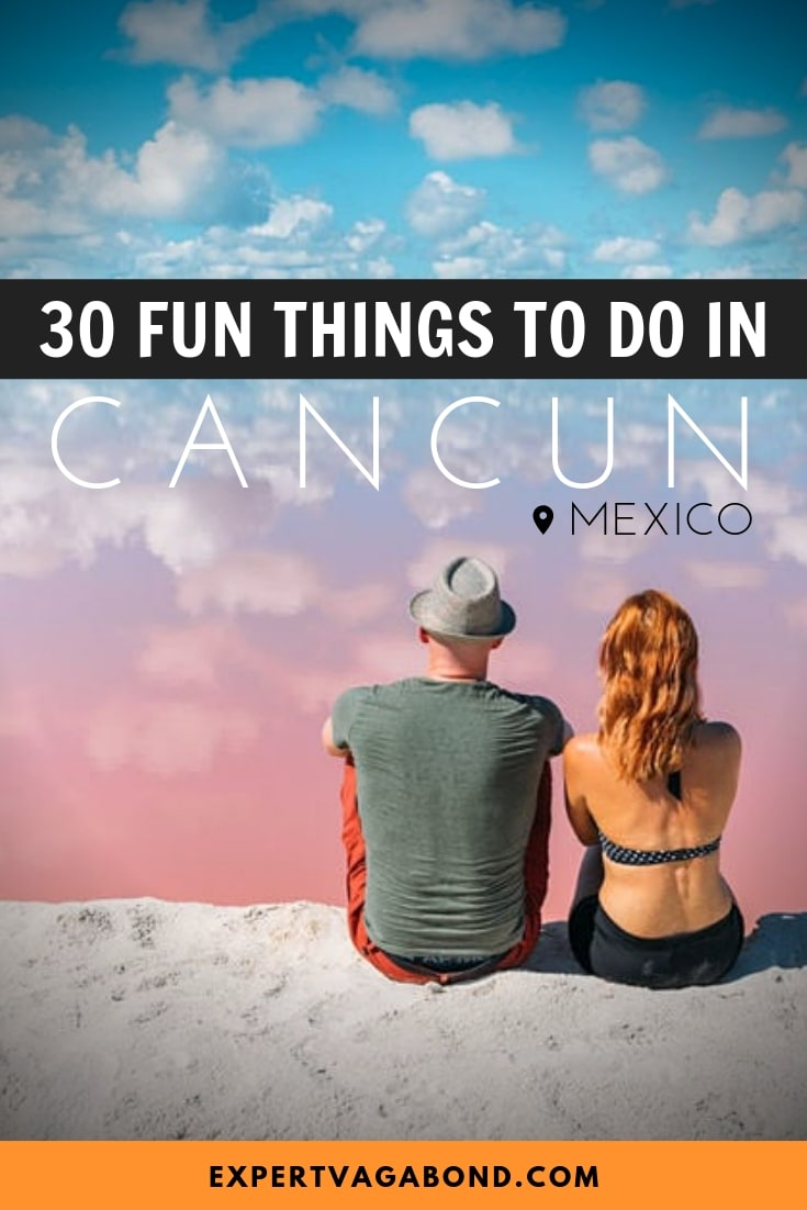 Fun things to do in Cancun, Mexico! Discover the best beaches, fun nightclubs, as well as unique cultural experiences in and around Cancun.