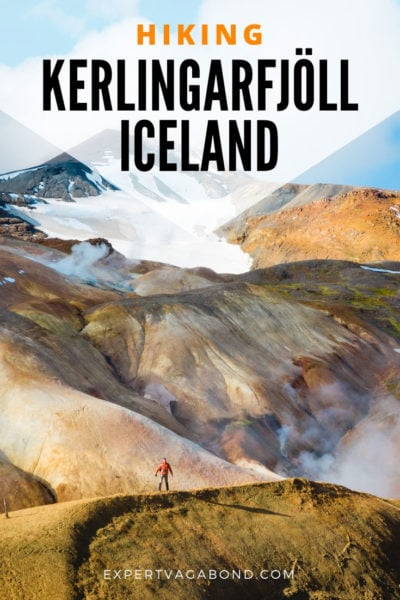 Tips for Hiking Kerlingarfjoll in Iceland's Highlands! More at ExpertVagabond.com