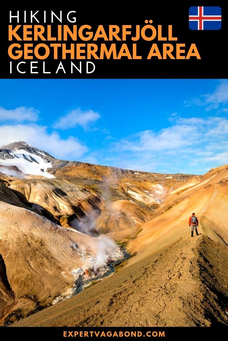 Tips for Hiking Kerlingarfjoll in Iceland's Highlands. More at ExpertVagabond.com