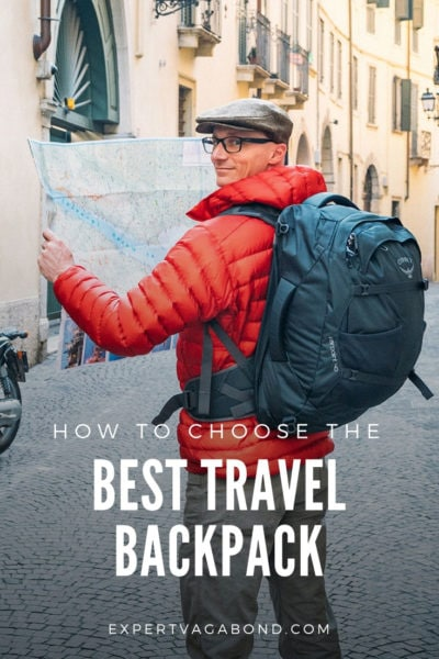 Learn how to choose the best backpack for traveling. A travel backpack review guide.