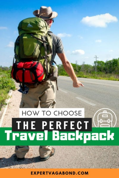 Learn how to choose the best backpack for traveling. A travel backpack review guide. #travel #backpacking #travelbackpack #travelgear
