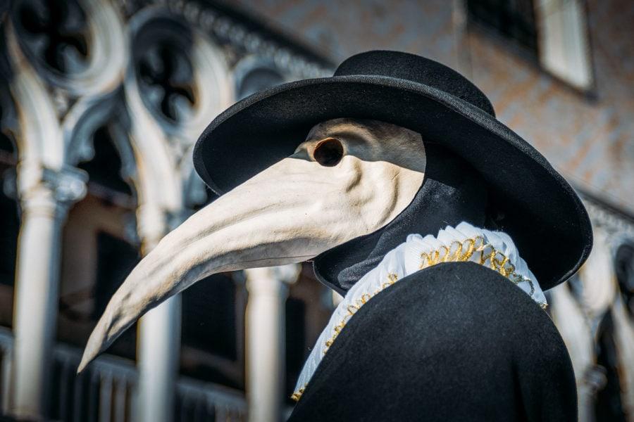 Plague Doctor Venetian Mask