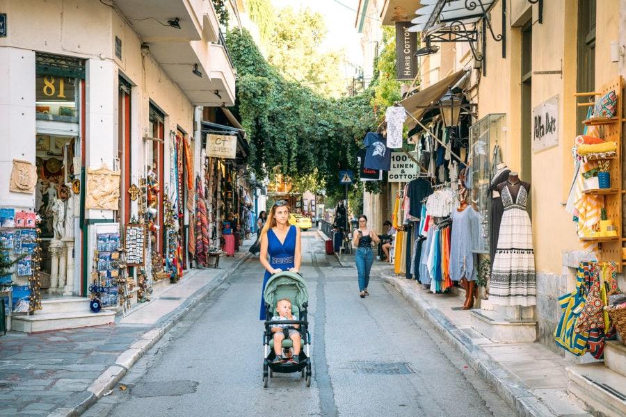 Plaka Neighborhood Athens