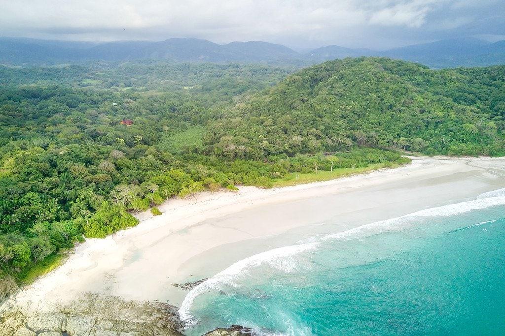 Coastline Corcovado Costa Rica