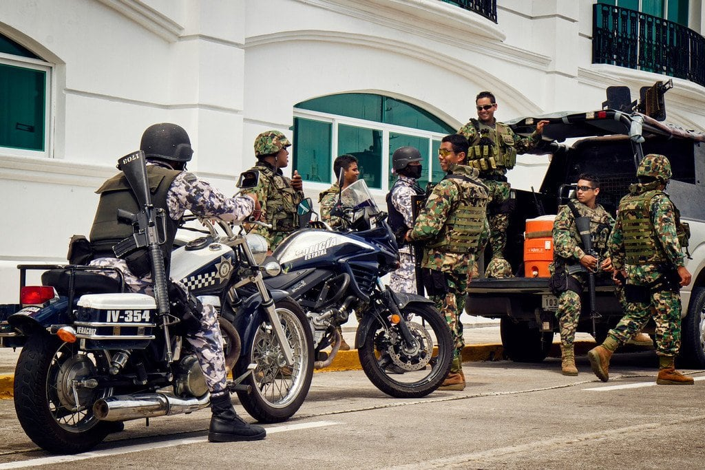 Military & Police Veracruz Mexico