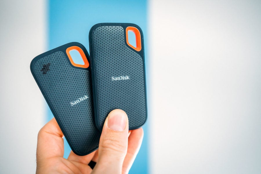 Portable Hard Drives for Travel