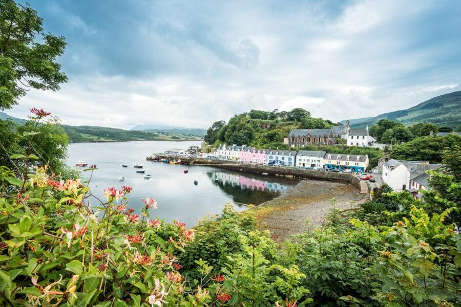 Portree Village Isle of Skye