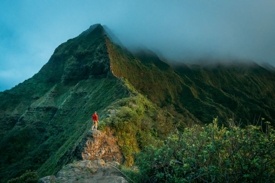 Photographer in Hawaii