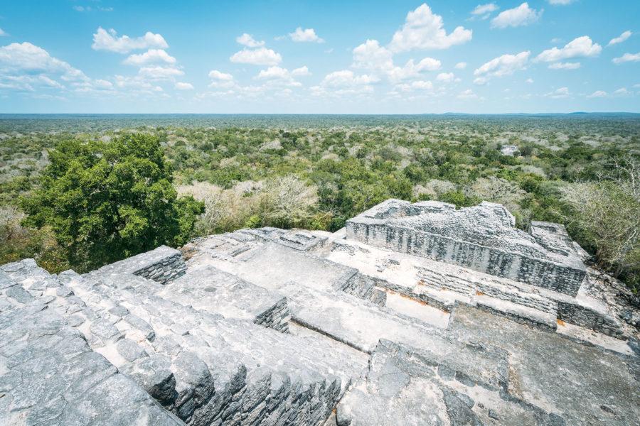 Jungle Pyramid in Mexico
