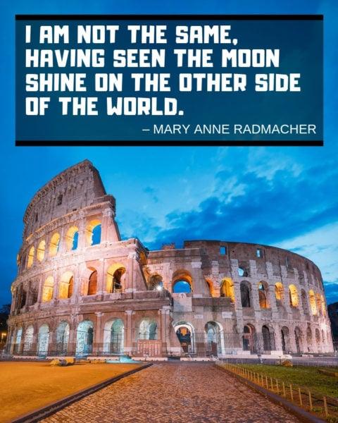 Mary Anne Radmacher Quotation