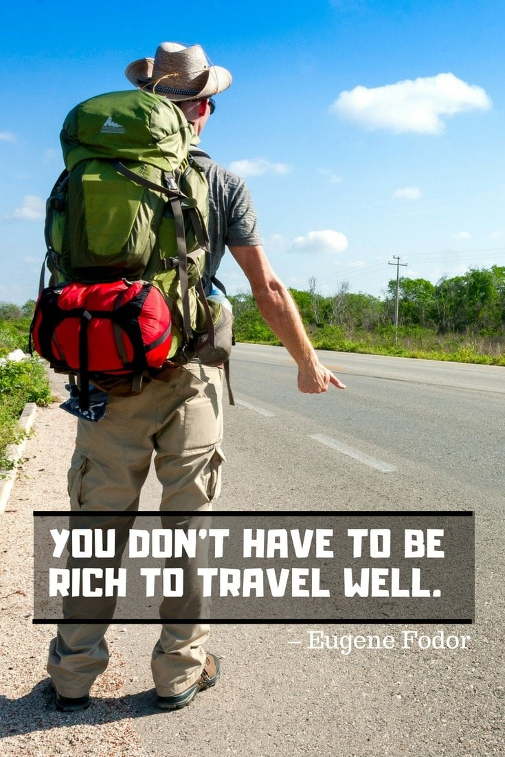 Best Quotes about Traveling from Eugene Fodor