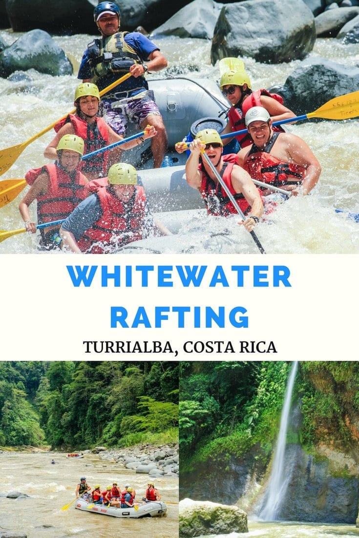 Whitewater Rafting Costa Rica. More at ExpertVagabond.com