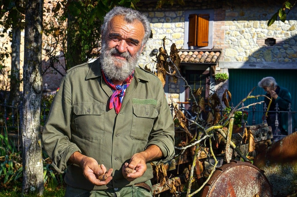 Local Farmer Italy