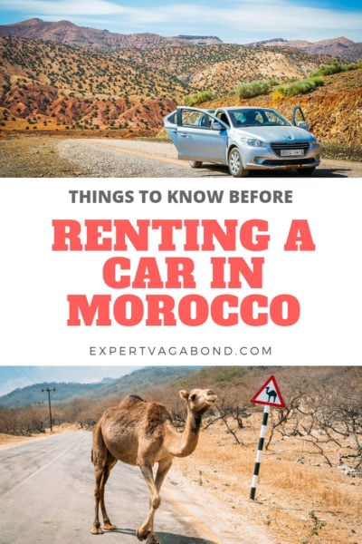 Renting a car in Morocco isn't as scary as it sounds if you follow my tips for a successful road trip.
