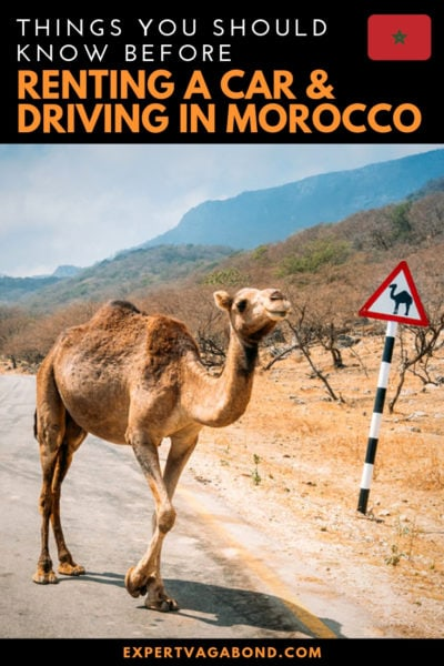 Renting A Car And Driving In Morocco #Morocco #Rentalcar #Travelbycar