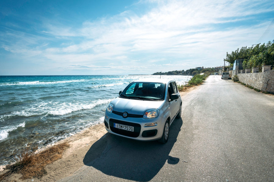 Renting a Car in Greece