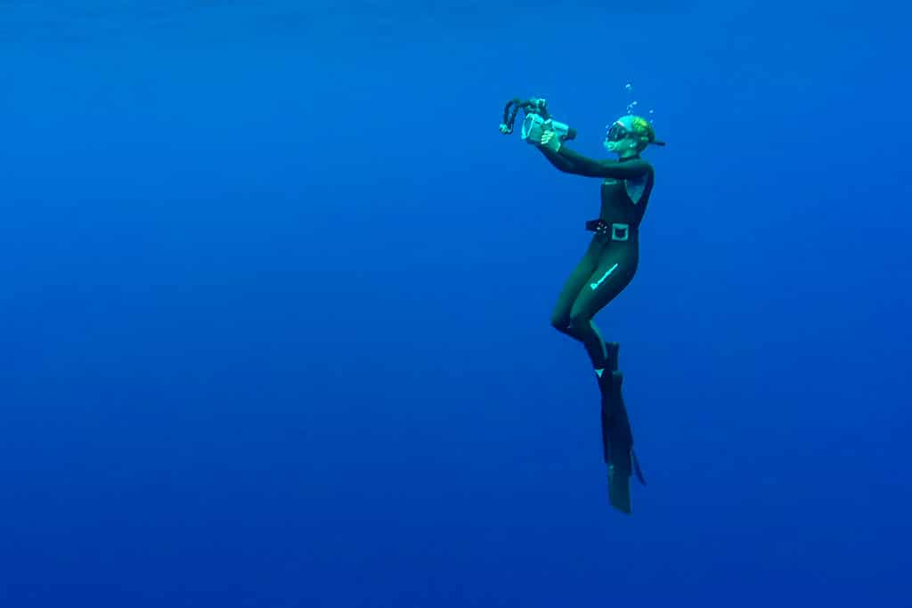 Freediving Reunion Island