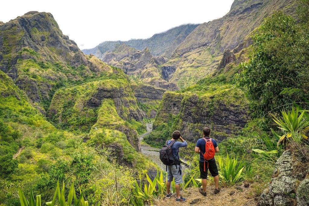 Hiking on Reunion Island