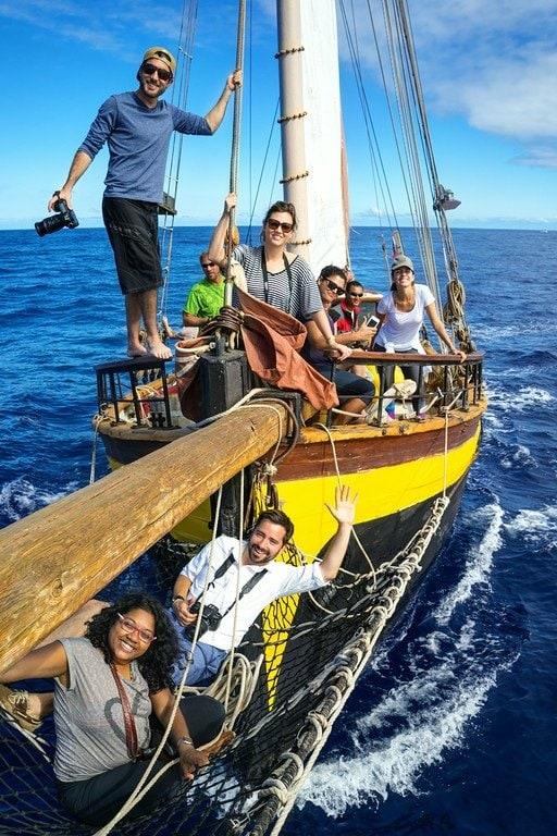 Sailing Reunion Island