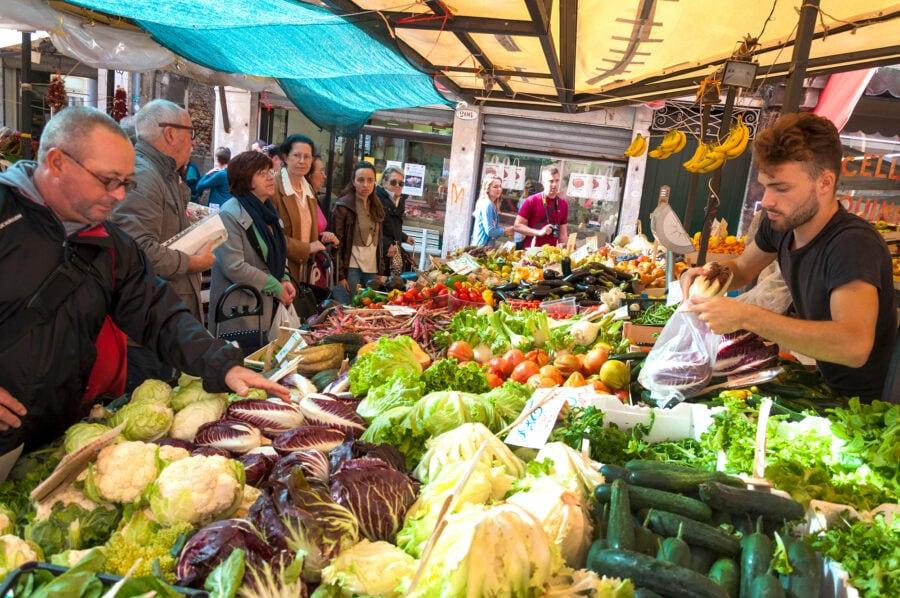 Veggies at Rialto Market