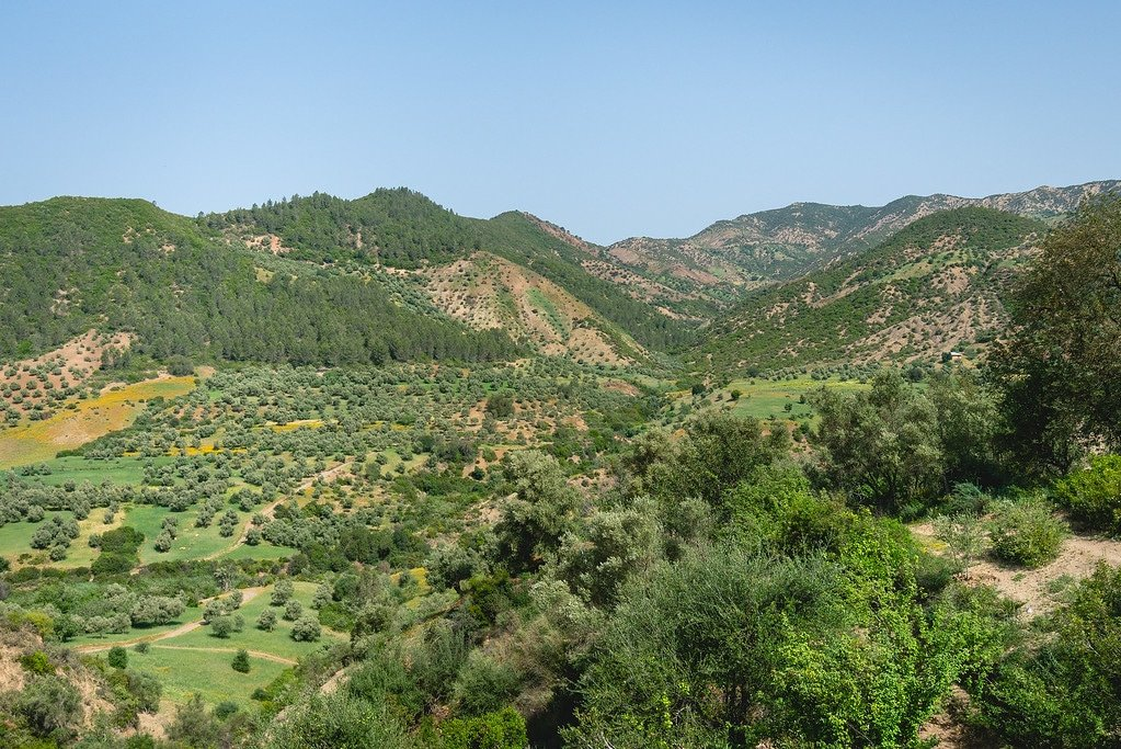 Riff Mountains in Chefchaouen