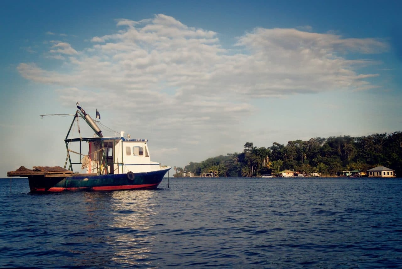 Rio Dulce River Guatemala Ocean