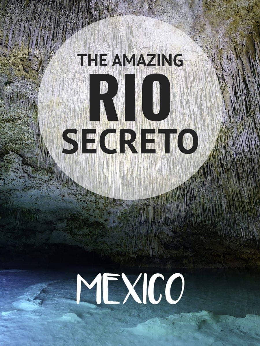 Exploring underground caves and rivers in the Yucatan at Rio Secreto. More at ExpertVagabond.com