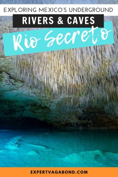 Tips for visiting the Rio Secreto caves in Mexico! #Mexico #Travel #Caves