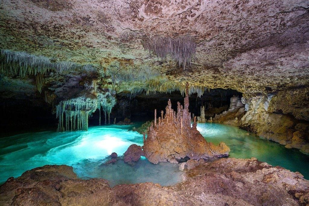 Yucatan Caves width=