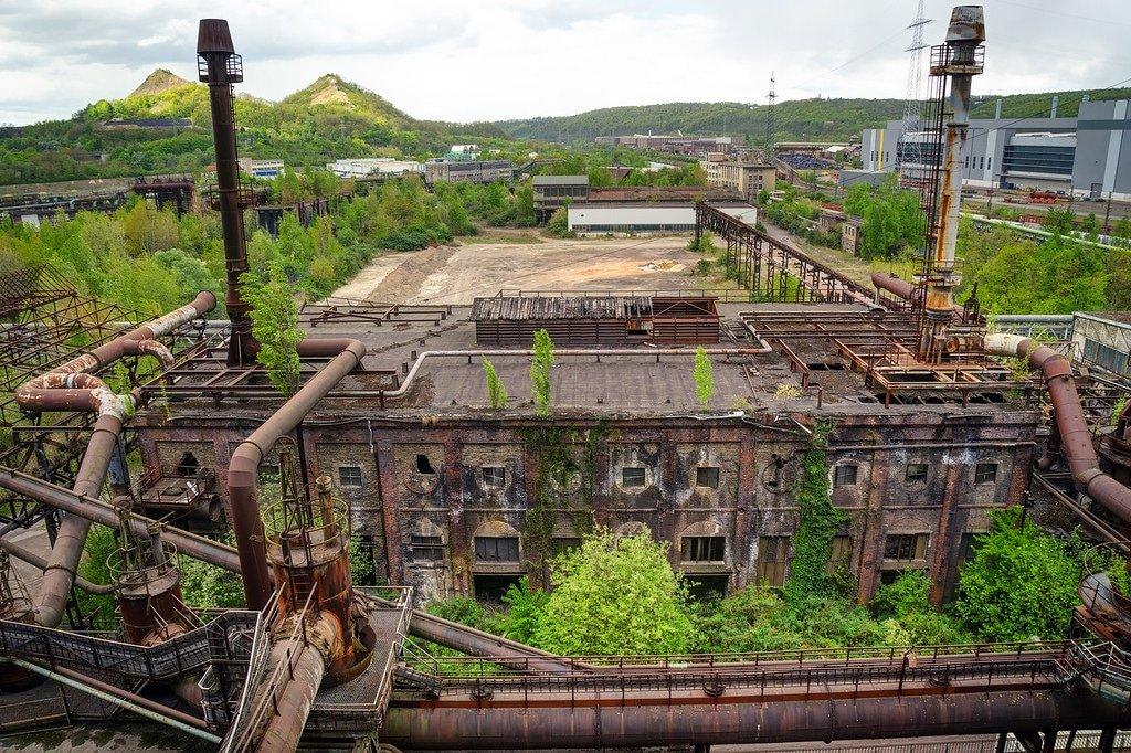 Volklinger Ironworks Landscape