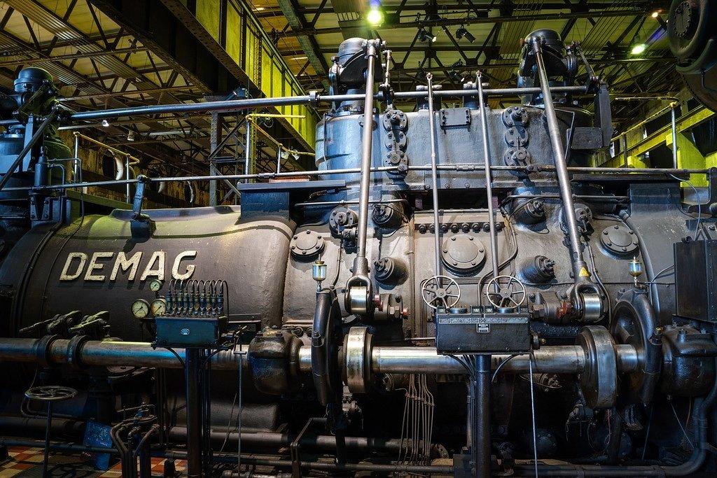 Volklinger Ironworks Gas Engines