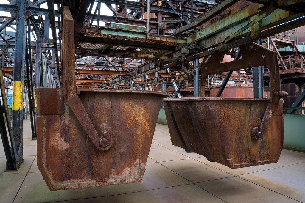 Iron Ore Buckets Volklinger