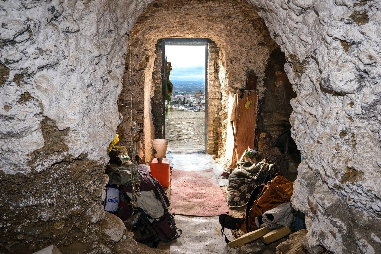 Inside Sacromonte Cave in Spain