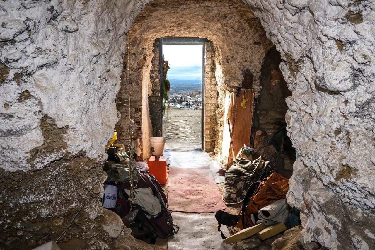 Inside Sacromonte Cave in Spain