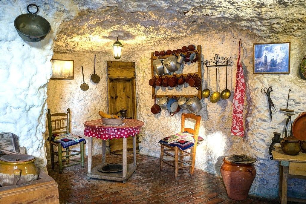 Sacromonte Caves in Spain