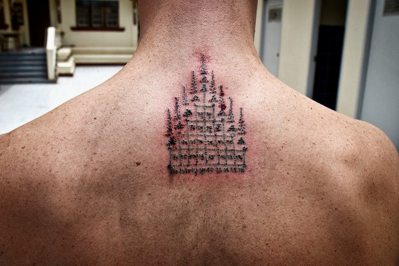 Blessed By A Monk My Magic Sak Yant Tattoo Expert Vagabond