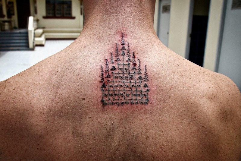 sak yant home tattoo