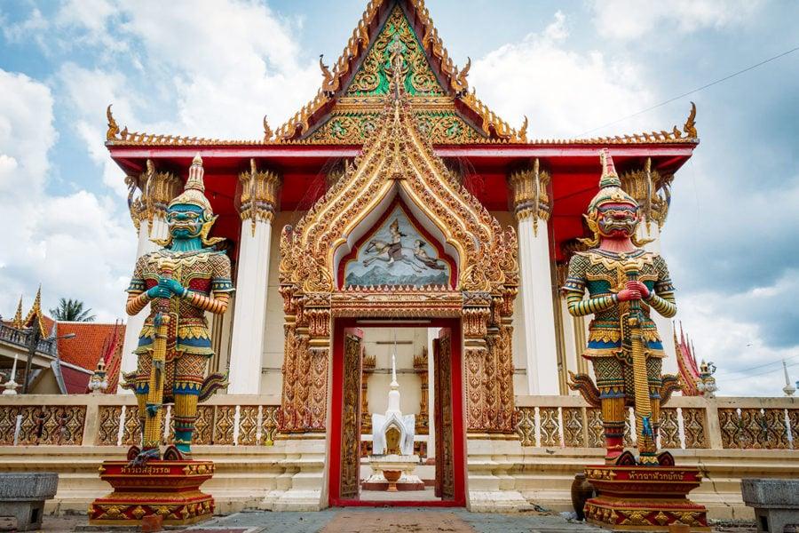 Sak Yant Tattoo Buddhist Monastery