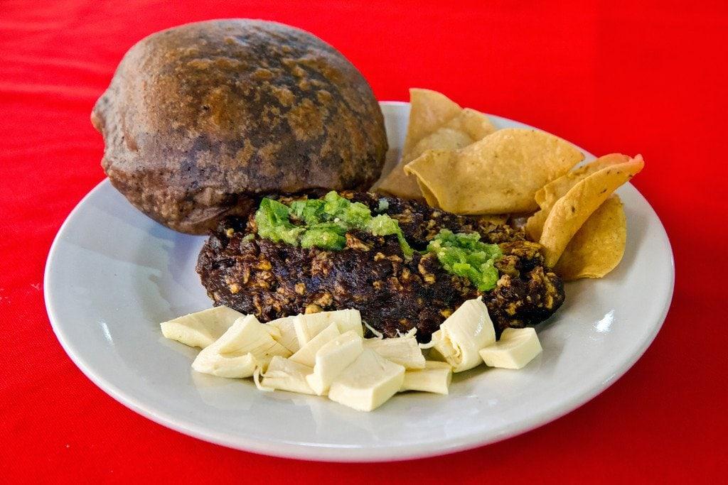 Samborcito Breakfast Veracruz Mexico