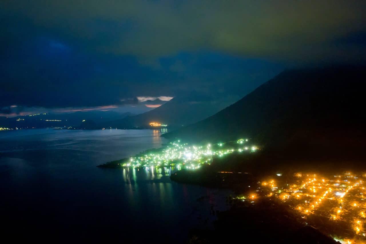 Lake Atitlan at Night