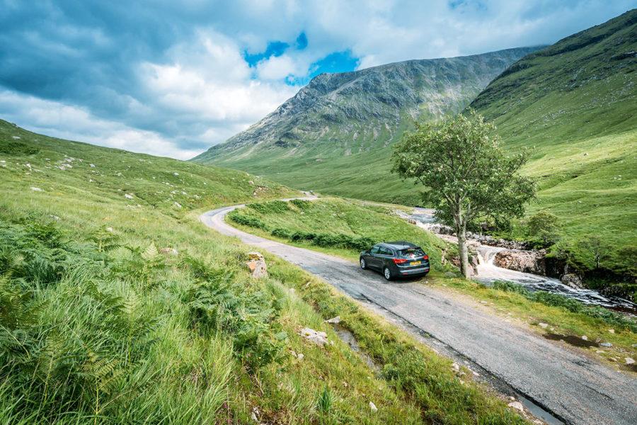 Glen Etive Mountain Road