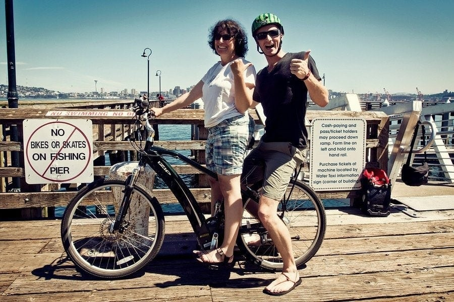 seattle pier bike XL