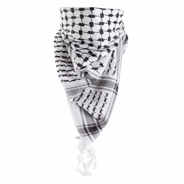 White Shemagh Scarf